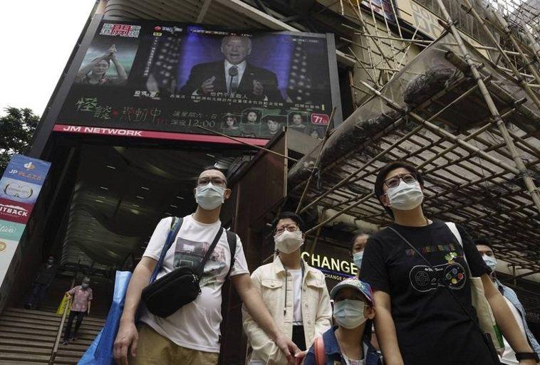 香港確診2019冠狀病毒疾病(COVID-19)暴增為60例,創1月27日以來新...