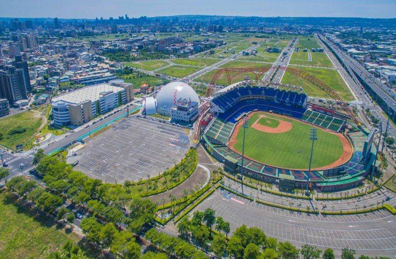 台壽保董事會通過增資15.88億擴大投資台中洲際棒球園區;圖為規畫中的綜合商場預定地。圖/台中市運動局提供