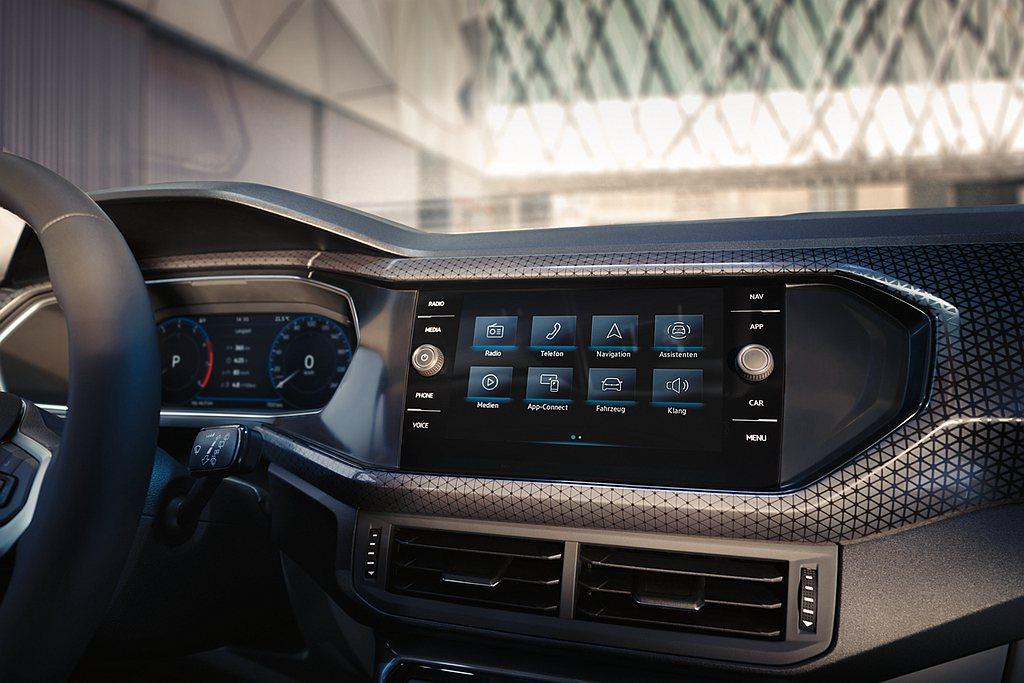 2021年式福斯T-Cross全車系,搭載新型Discover Pro 9.2吋...