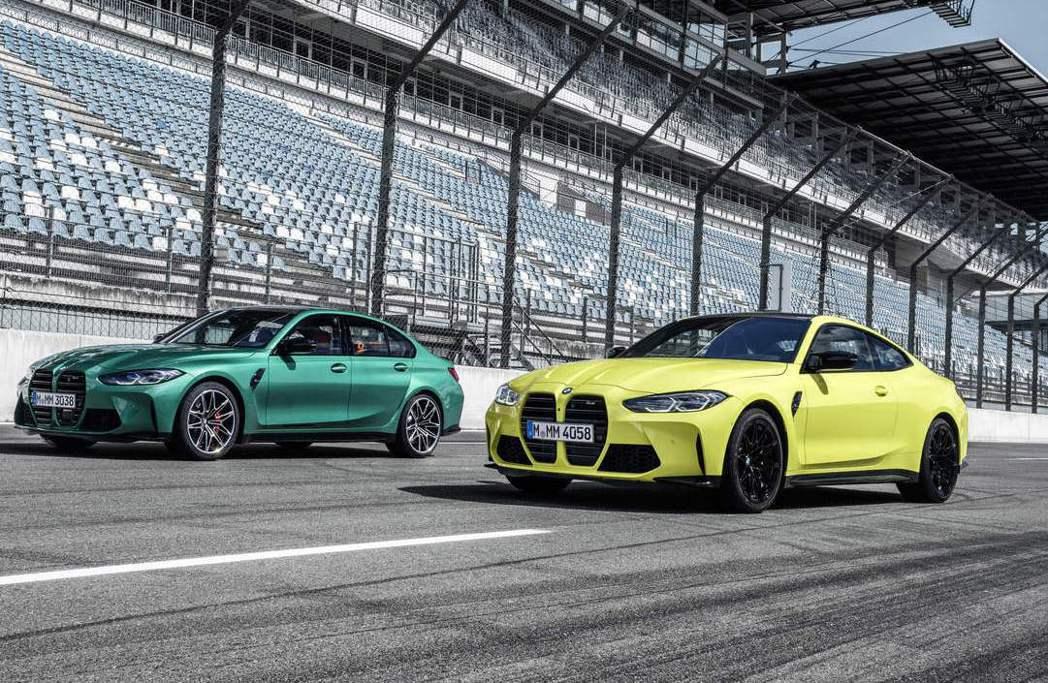 全新BMW M3 Competition與M4 Competition預售起跑。...