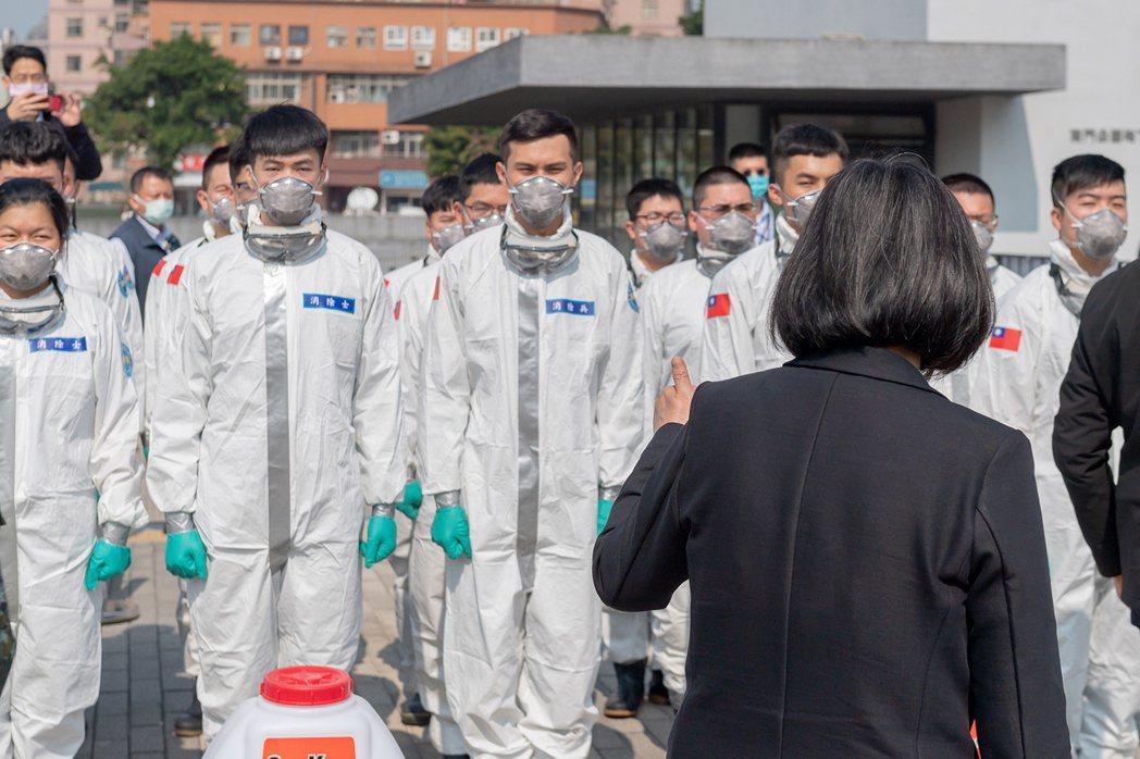 在全球感染COVID-19者破億人的此刻,台灣整體防疫表現仍然可圈可點。 圖/歐新社