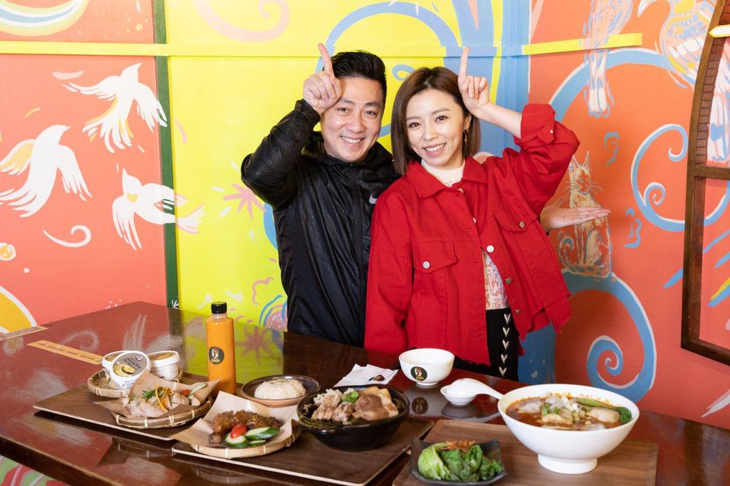 王瞳、艾成婚後迎來第一個過年,端出馬來西亞特色料理,菜色相當澎湃。記者季相儒/攝...