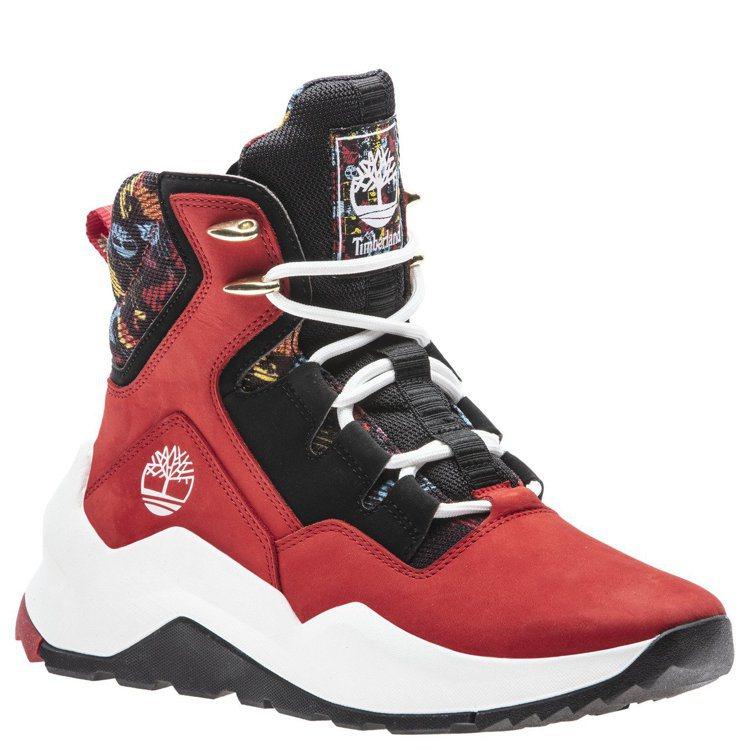 Timberland女款Madbury Side-Zip Sneaker靴4,5...