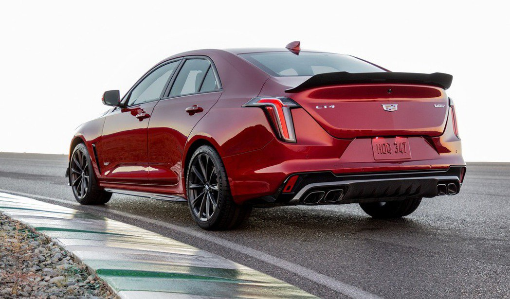 Cadillac CT4-V Blackwing。 圖/Cadillac提供