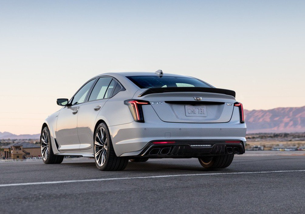 Cadillac CT5-V Blackwing。 圖/Cadillac提供