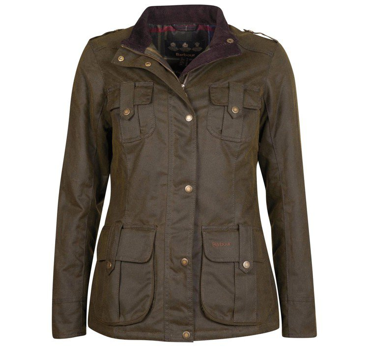 Barbour Winter Defence油布夾克18,100元。圖/Barb...