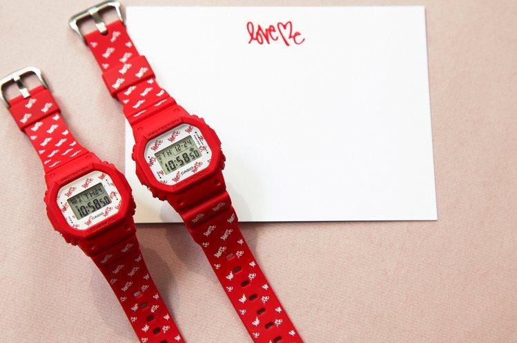 G-Shock & Baby-G LOV-20B對表組6,500元。圖/...