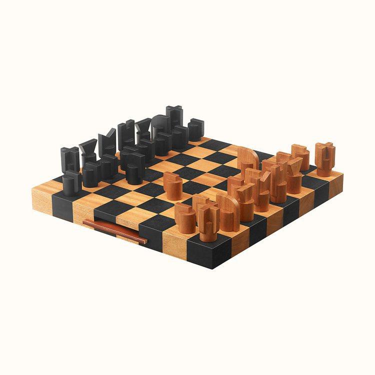 愛馬仕西洋棋組。圖/摘自官網 吳曉涵