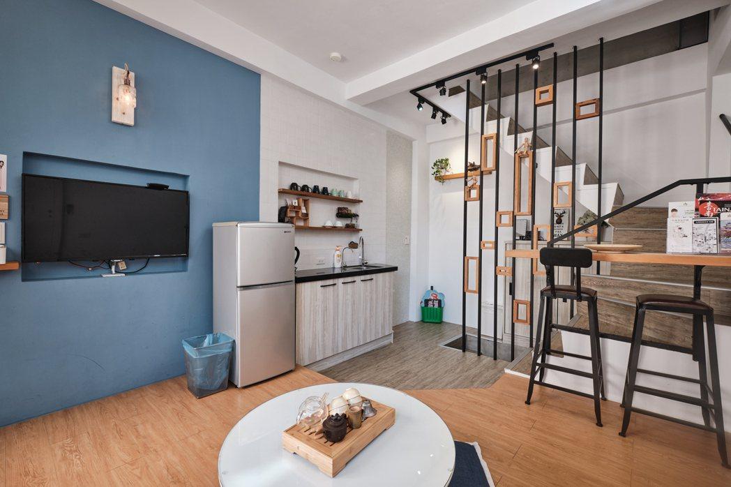 台南市:巷弄小巧包棟民宿。 Airbnb /提供