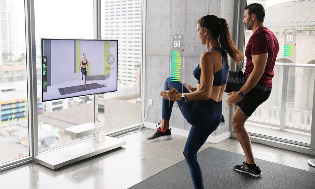 Wondercise 健身科技在用戶訓練時即時提供運動分數。 Wondercis...