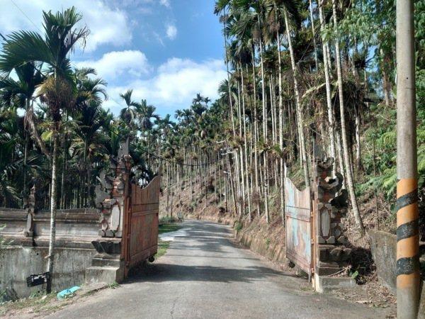 烏布雨林峇里島主題餐廳門口