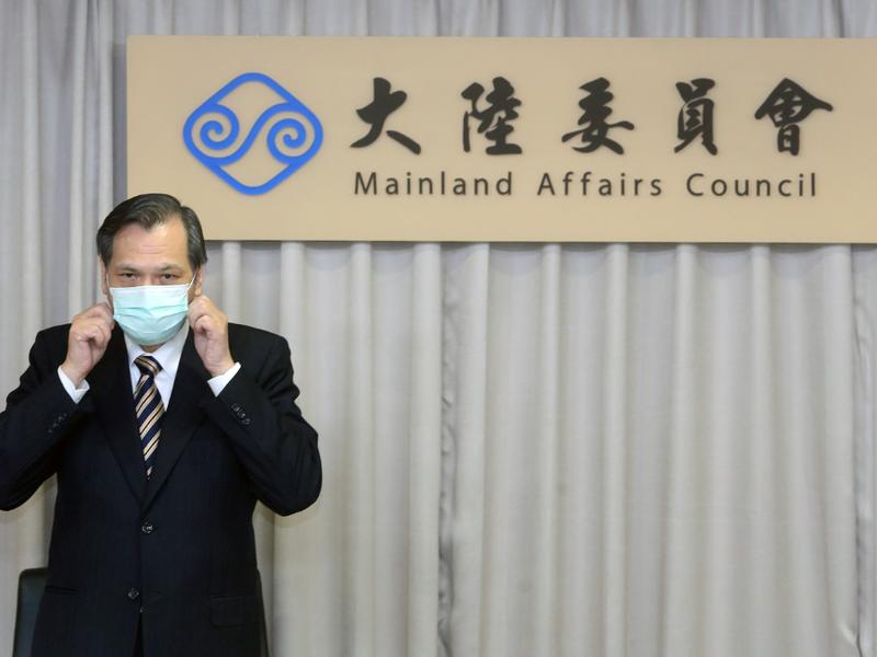 陸委會主委陳明通表示,無論是海陸30周年或此刻兩岸關係,他都沒有任何評論。圖/聯合報系資料照片