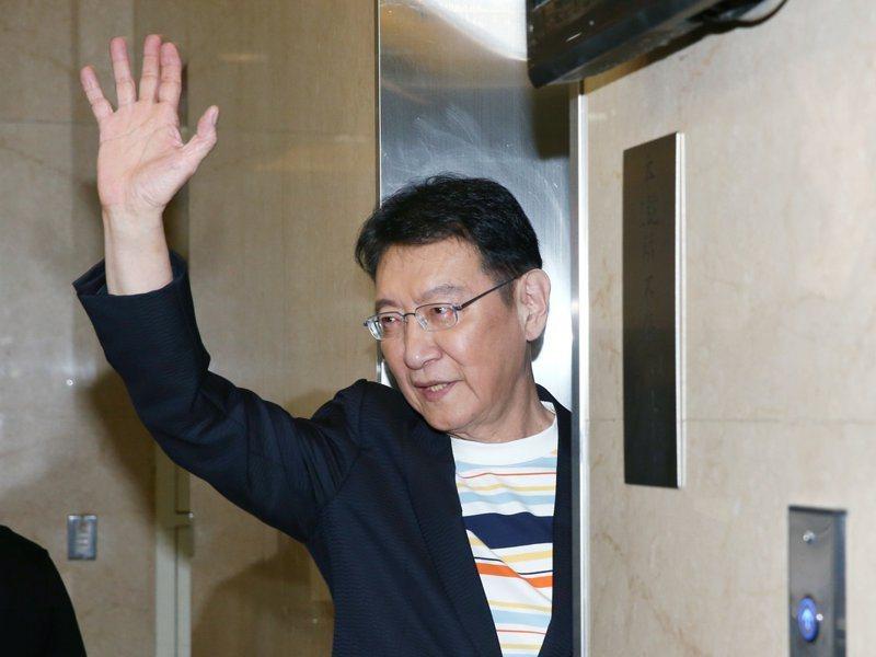 中廣董事長趙少康宣布重回國民黨。聯合報系資料照片