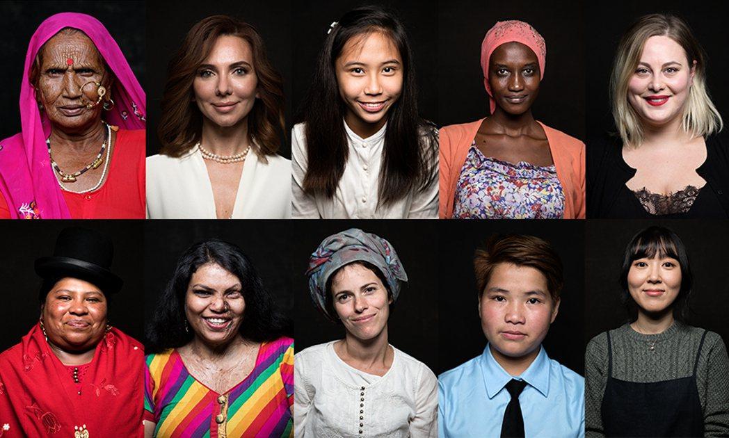 《女也》超過2000名女性獻影自述生命故事。捷傑提供