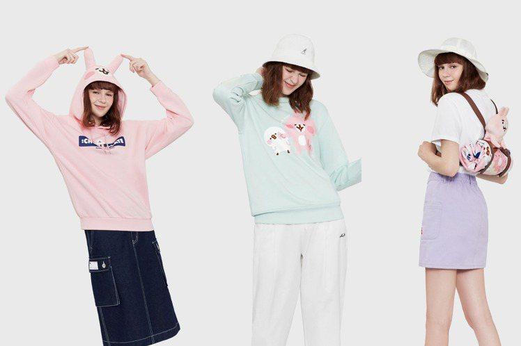 :CHOCOOLATE首度攜手合作廣受日本女性喜愛的卡娜赫拉的小動物系列。圖/I...