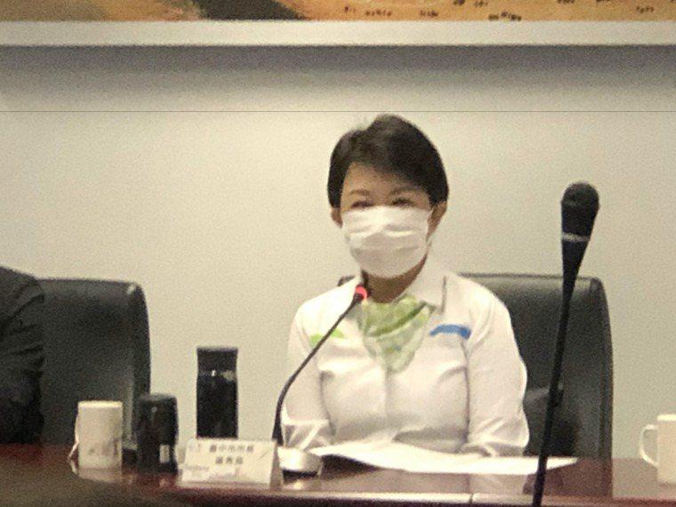 台中市名居家檢疫女子傳留醫師男友過夜,市長盧秀燕怒斥可惡至極!圖/台中市政府提供