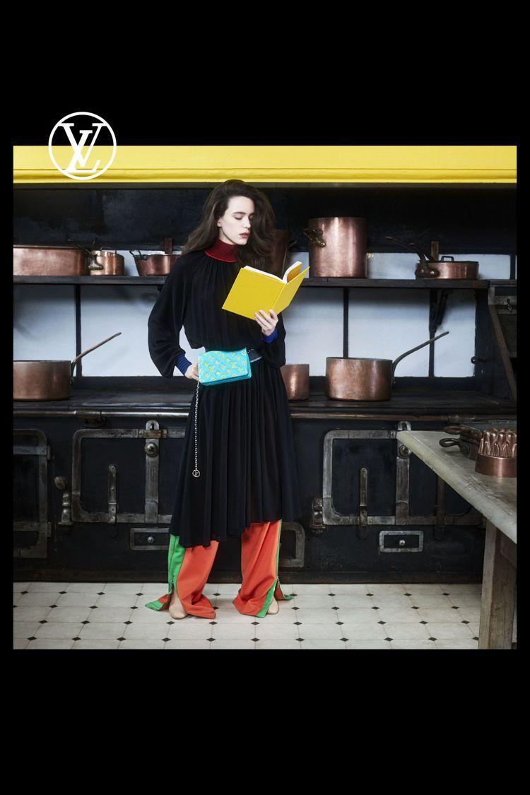 2021早秋女裝形象由史黛西馬汀詮釋、Nicolas Ghesquiere親自掌...