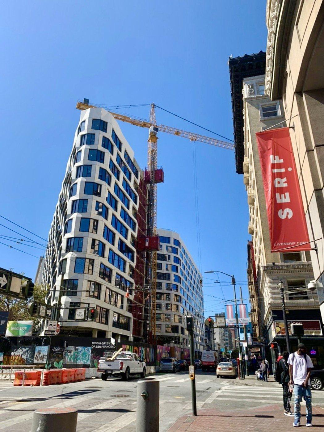 大陸建設投資美國首案「尚芮公寓SERIF」,吸引中部富豪搶買。圖/大陸建設提供