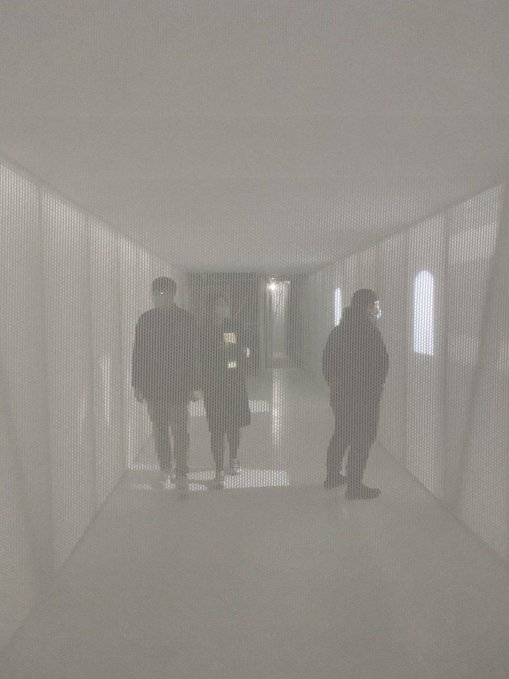 邱文傑以空間與介質說明「間接共生」概念。圖/邱文傑建築師事務所 提供
