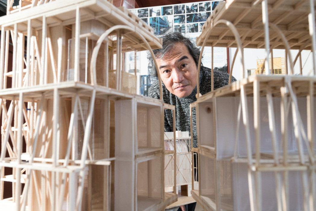 邱文傑出身七條通,巷弄文化成為他建築理念的一大重點。攝影/陳立凱