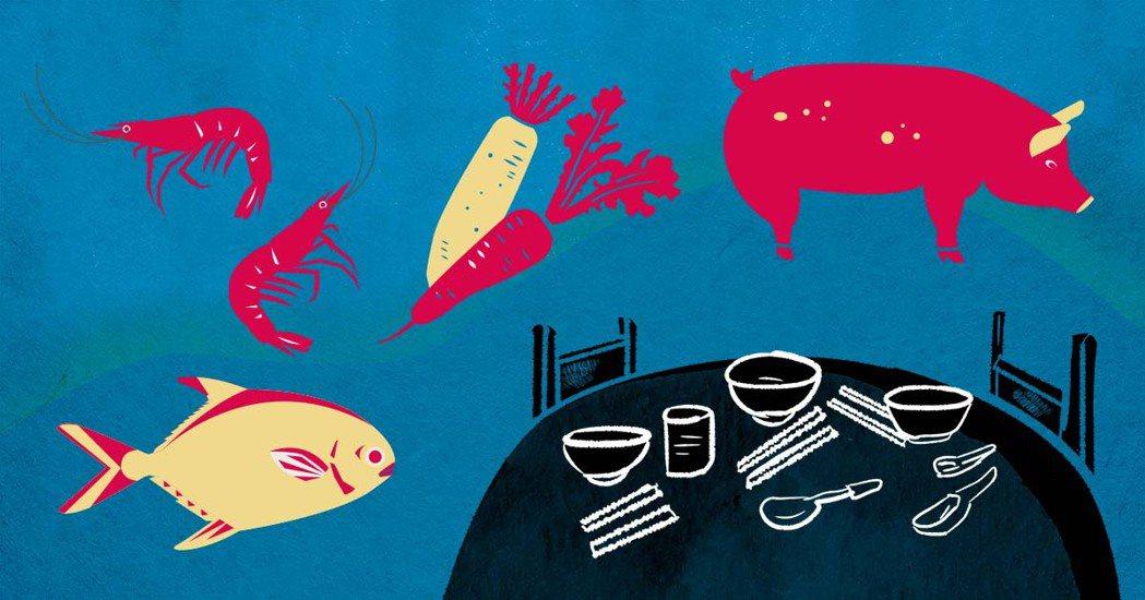 當你真正認識這些食材,以及自己的飲食行為與環境關係後,是否可以讓餐桌往對環境更友...