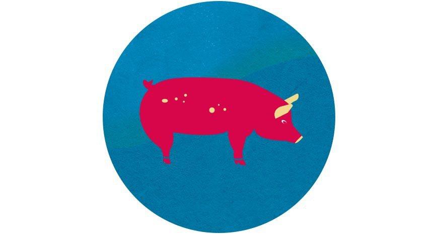 圍爐時的滷豬腳、原民慶典的烤山豬,豬肉一向都是傳統節慶的主角 圖/主婦聯盟 提供