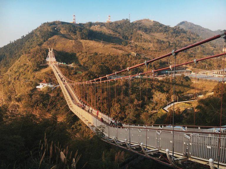 太平雲梯是台灣最長海拔最高的景觀吊橋,可以居高臨下感受整座山脈的壯觀。 圖/IG...