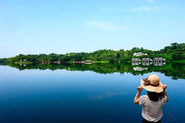 台南擁有台灣最多的水庫,其中有「小江南」之稱的便是柳營區的「尖山埤水庫」。 圖/...