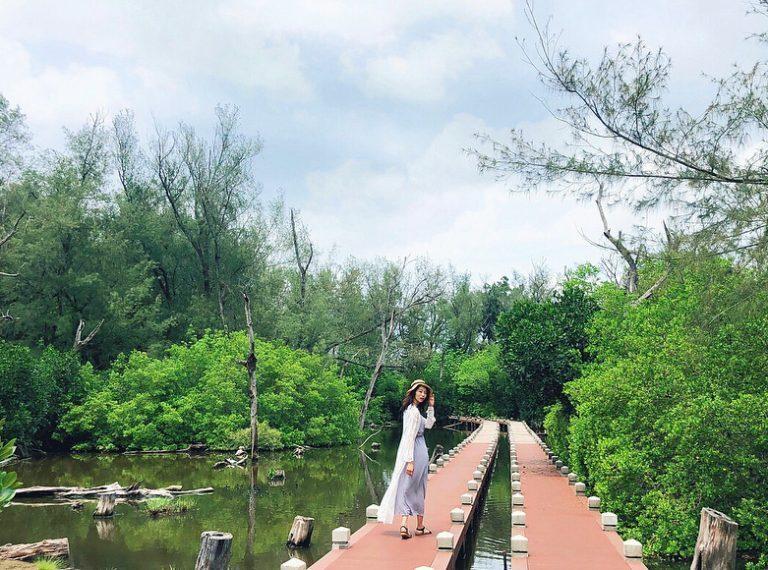 充滿綠蔭的雙春濱海遊憩區有小忘憂森林之稱 圖/IG@idunfaylin