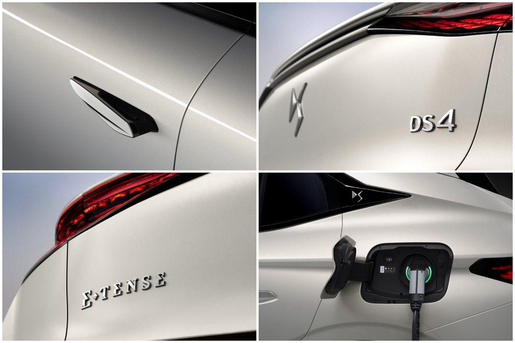 全新DS 4發表之際,也揭曉了全新E-TENSE插電式油電混合動力車型。 摘自D...