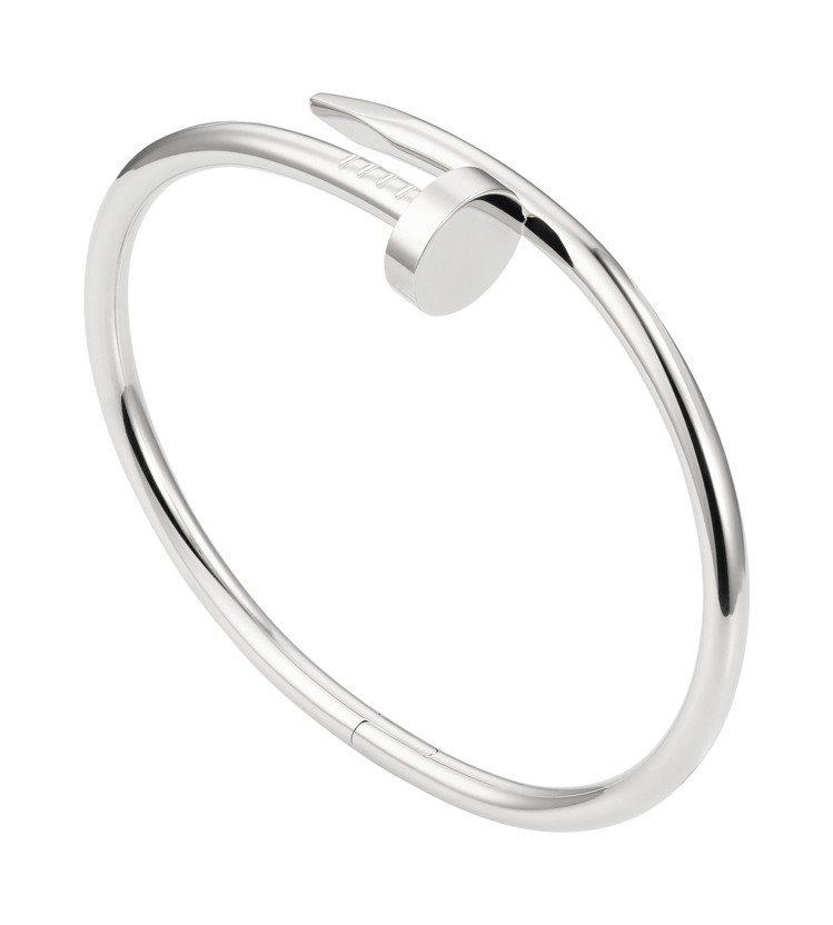 卡地亞JUSTE UN CLOU白K金手環,約22萬4,000元。圖/卡地亞提供...