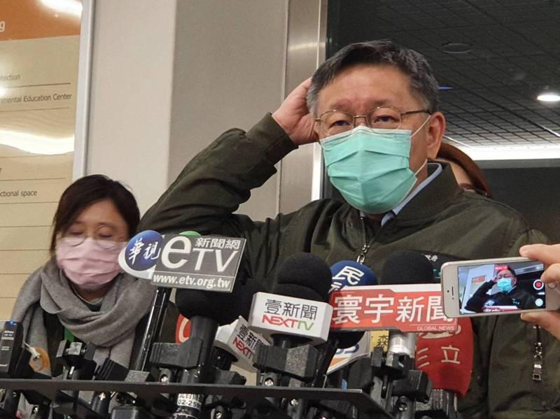 台北市長柯文哲任期僅剩兩年不到,最近小內閣人事再傳異動,且一度傳出更動幅度要加大,藉此「除綠」。圖]/聯合報系資料照片