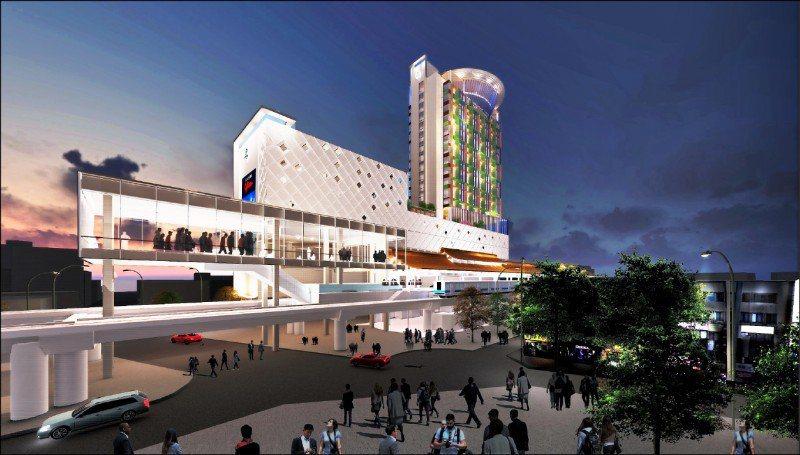 台北市「士林站TOD開發案」 。