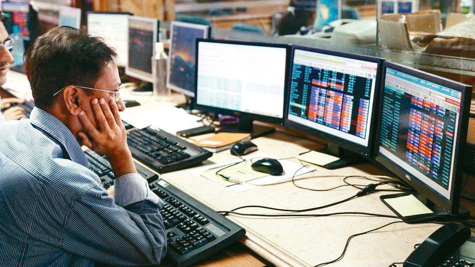 印度股示意圖。