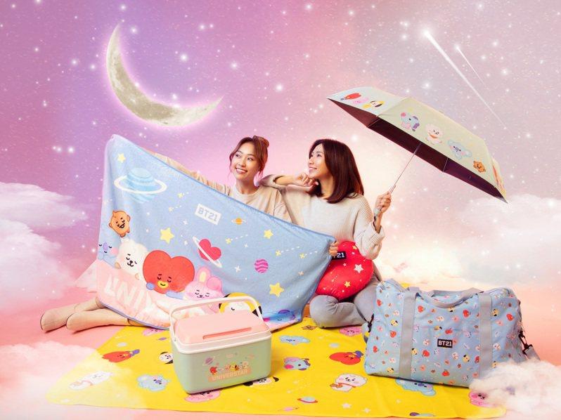 康是美「BT21 Baby萌翻宇宙大集合」加價購活動將於2月17日推出第二波商品。圖/康是美提供
