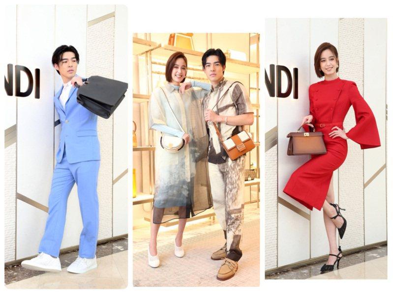 FENDI發表2021春夏系列,由陳庭妮、陳昊森演繹。記者胡經周/攝影