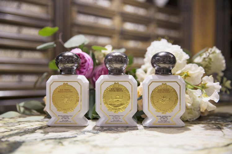 BULY 1803推薦拜爾坎橙花、麥地那烏木與大馬士革玫瑰3款三倍水。圖/BUL...