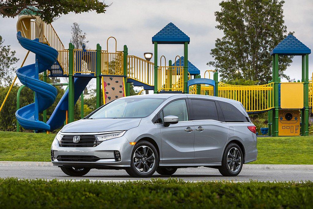 美規Honda Odyssey日前針對新年式車型配備稍作調整。 圖/Honda提...