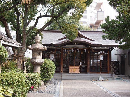 大阪的「サムハラ神社」因曾庇佑日本總理大臣而蔚為話題,如今卻傳出性騷擾案。圖擷取自Tripadvisor