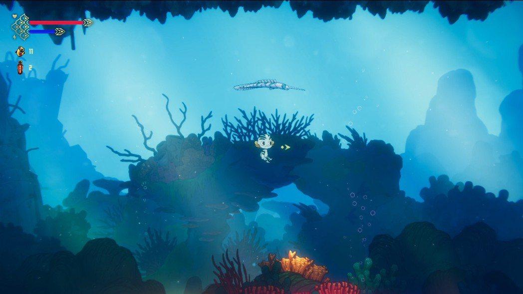 《棄海:波弟大冒險》是以海底做為冒險舞台,遊戲開發團隊用心地將深海的意境描繪出來...