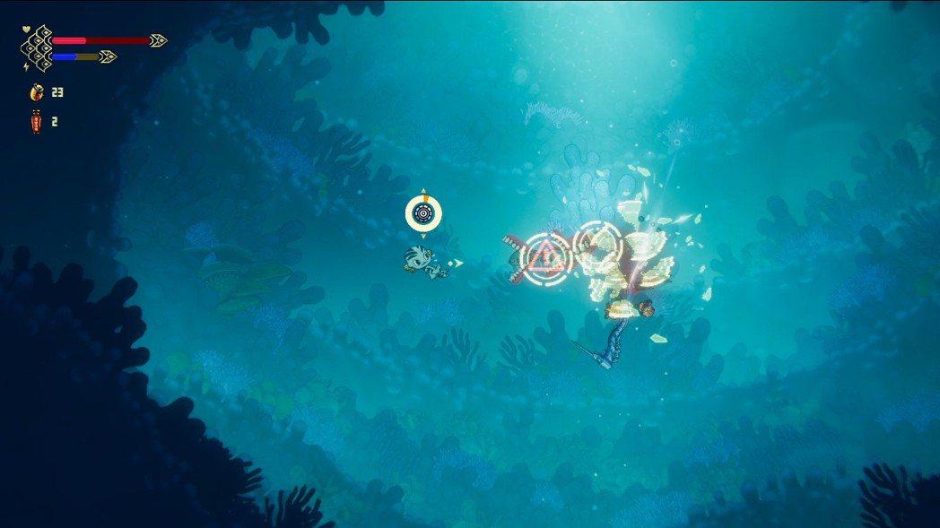 遊戲中波弟會習得一招「衝刺」,它除了可以用來移動之外,同時也帶有無敵的效果,假如...