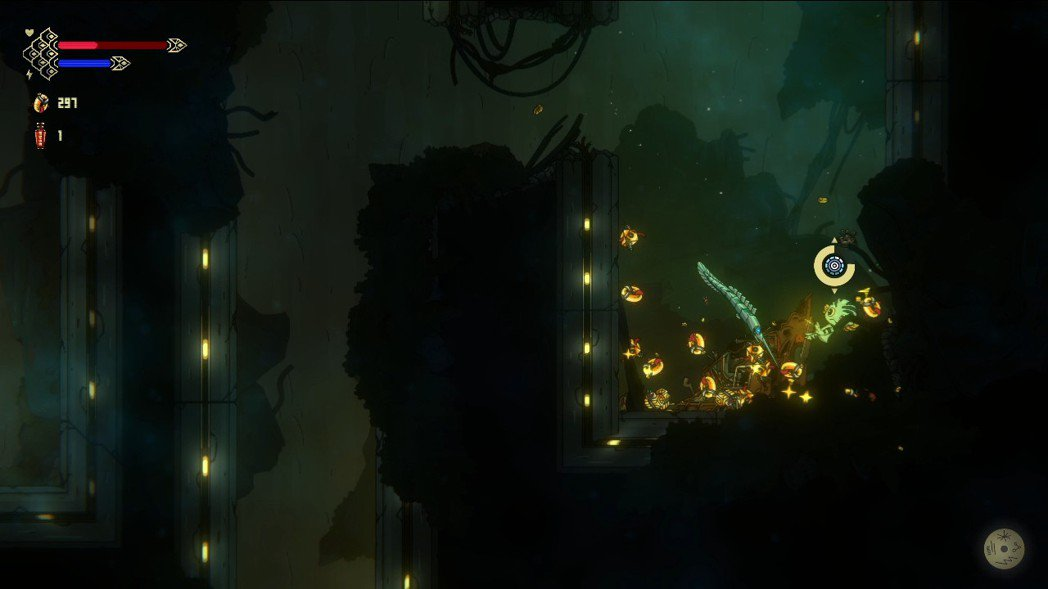 平常打倒敵人,或者是破壞關卡中的一些物品之後,可以得到金色的零件,這在遊戲中同等...