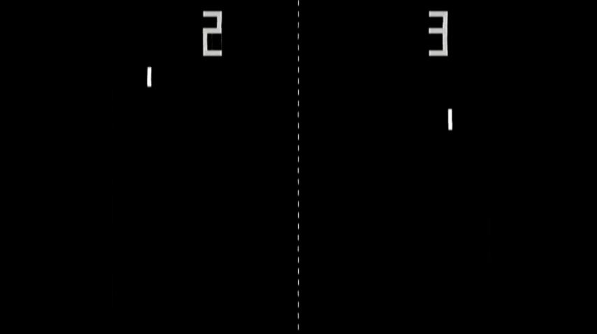 雅達利的乒乓球遊戲《Pong》