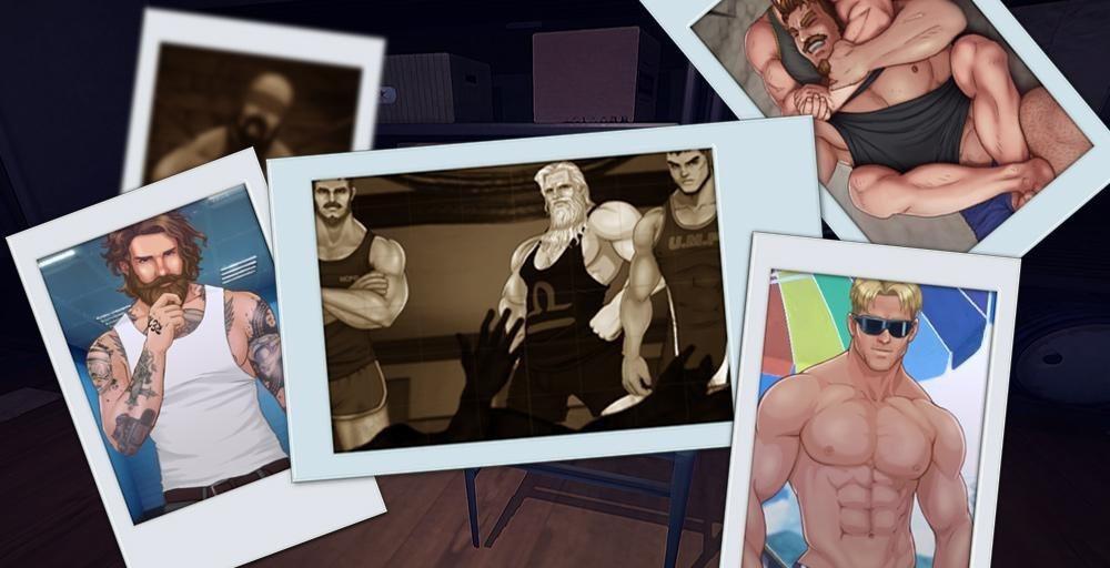 公眾版遊戲版本內的謀殺調查事件畫面僅以剪影與文字方式演出