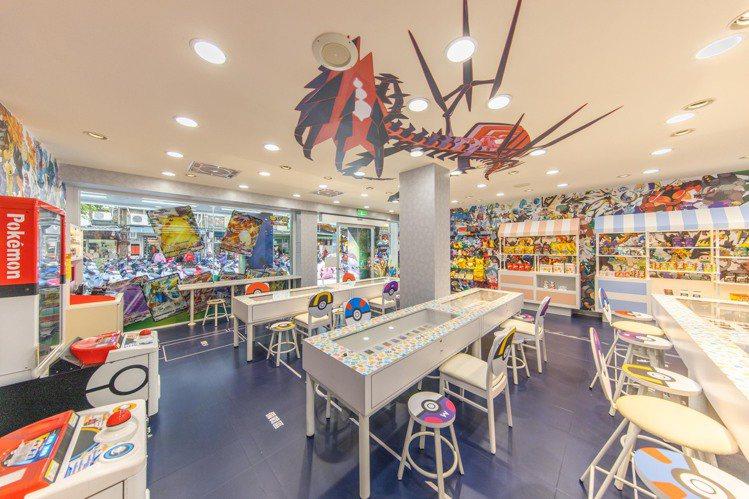 7-ELEVEN台北板橋「寶可夢主題店」。圖/7-ELEVEN提供