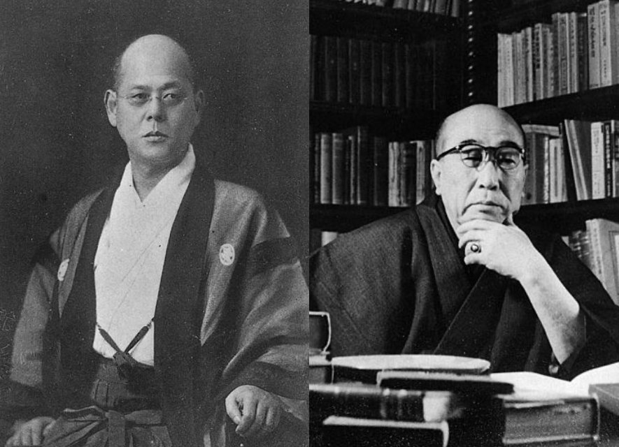 左:日本偵探小說的發展,黑岩淚香扮演關鍵的角色。右:江戶川亂步在1923年於該雜誌所發表的《兩分銅幣》標示了日本偵探小說的興起。 圖/維基共享