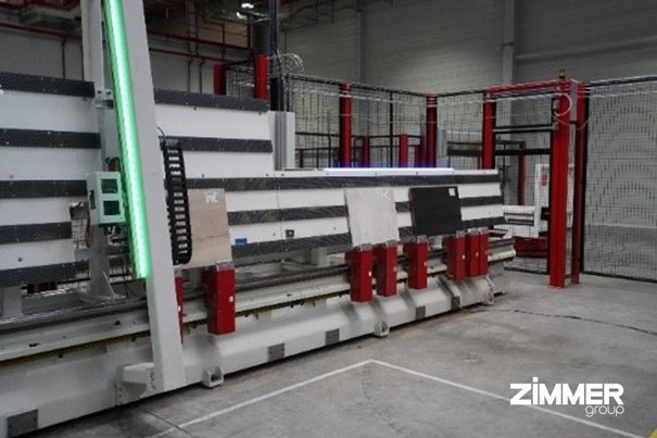 模組化生產單元提升木材加工中的高度靈活性。 極馬亞洲公司/提供