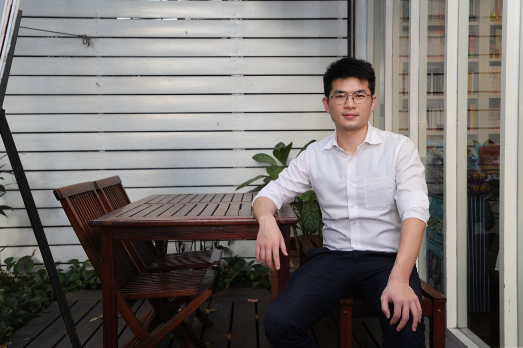 ETF達人、知名理財暢銷書作家PG財經筆記蔡至誠 記者蘇健忠/攝影