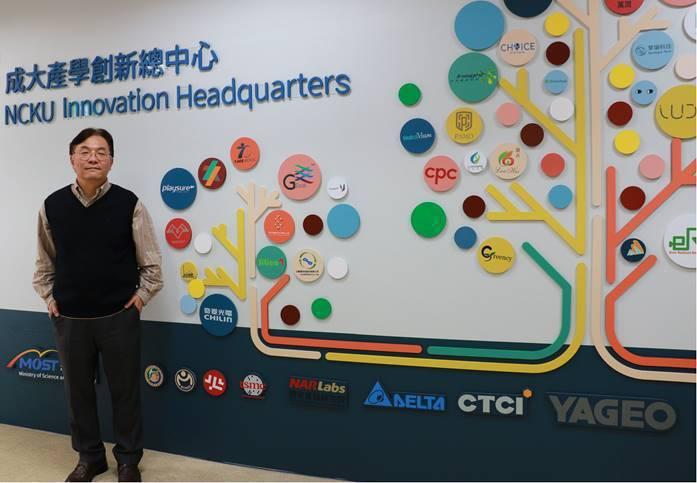 成大助理副校長暨產學創新總中心主任莊偉哲;攝影:李淑蓮