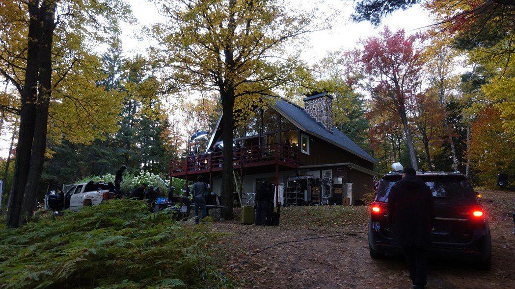 黃嘉千魁北克的家。圖/好好看文創、滿滿額娛樂提供